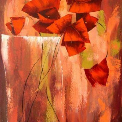 Мастер-класс по масляной живописи «Цветы в технике импасто Анастасии Крайневой» состоится 29.04.2020