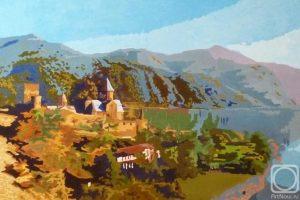 Мастер-класс  по масляной живописи «Грузия, весенний пейзаж»