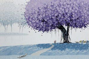 Мастер-класс по масляной живописи «Жизнерадостные пейзажи по мотивам Phan Thu Trang»