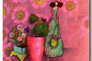 Мастер-класс по масляной живописи «Хрупкие девушки по мотивам работ Gaelle Boissonnard»