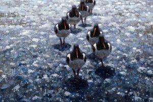 Мастер-класс по масляной живописи «Птицы по мотивам работ Ewoud de Groot»