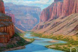 Мастер-класс по масляной живописи «Горы. Гранд-Каньон»