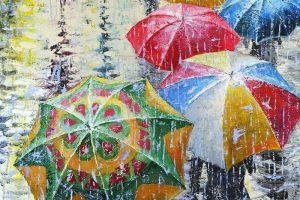 Мастер-класс по масляной живописи «Летний дождь по мотивам работ Станислава Сидорова».