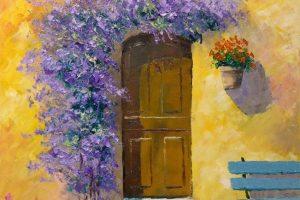 Мастер-класс по масляной живописи «Лето в Провансе»