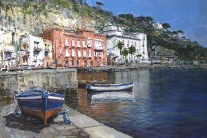 Мастер-класс по масляной живописи «Очарование Неаполя по мотивам работ Андреа Патриси»
