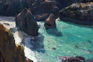 Мастер-класс по масляной живописи «Морской пейзаж по мотивам работ Paul Lewin»