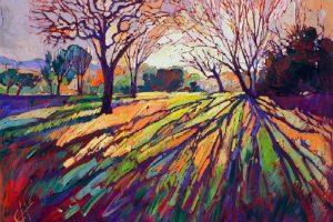 Мастер-класс по масляной живописи «Масляные витражи Эрин Хансон (Erin Hanson)»