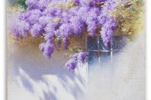 Мастер-класс по масляной живописи «Глициния»