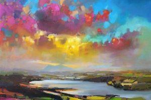 Мастер-класс по масляной живописи «Шотландские пейзажи по мотивам работ Скотта Нейсмита»