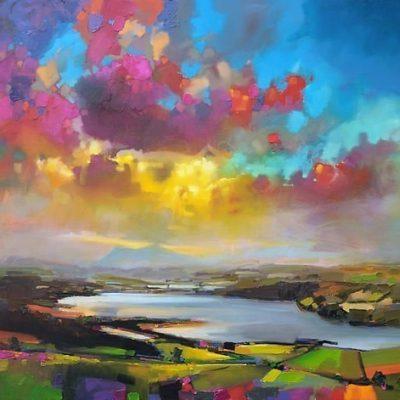 Мастер-класс по масляной живописи «Шотландские пейзажи по мотивам работ Скотта Нейсмита» состоится 08.11.2020