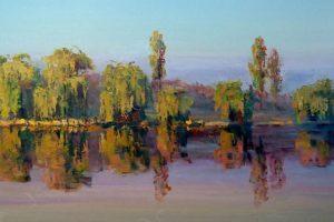 Мастер-класс по масляной живописи «Пейзаж по мотивам работ Анатолия Сеня»