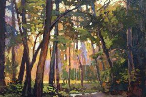 Мастер-класс по масляной живописи «Пейзаж по мотивам работ Jan Schmuckal»