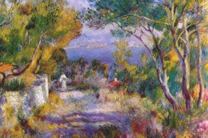 Мастер-класс по масляной живописи «Пейзаж по мотивам работ Ренуара»