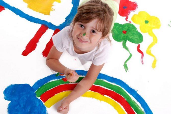 Детская студия в художественной школе Пальмира-Арт