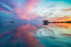 Мастер-класс по масляной живописи «Рассвет над морем»