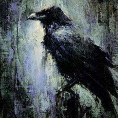 Мастер-класс по масляной живописи «Вороны» состоится 30.10.2020