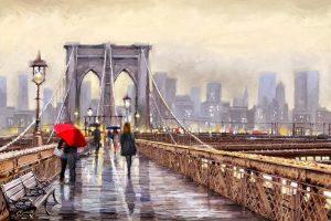 Мастер-класс по масляной живописи «Осень. Города мира»