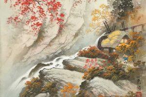 Мастер-класс по масляной живописи «Осень в восточном стиле»