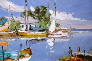 Мастер-класс по масляной живописи «Пейзажи по мотивам работ Erich Paulsen»