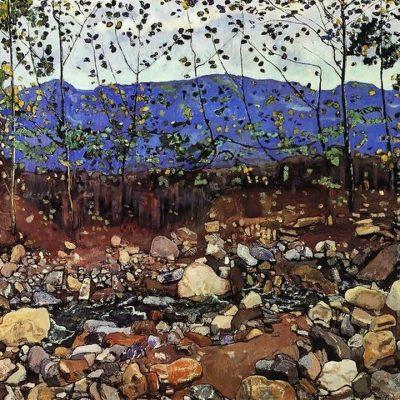 Мастер-класс по масляной живописи «Пейзажи по мотивам работ Фердинанда Ходлера состоится 30.04.2020