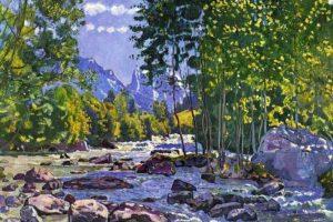 Мастер-класс по масляной живописи «Пейзажи по мотивам работ Фердинанда Ходлера