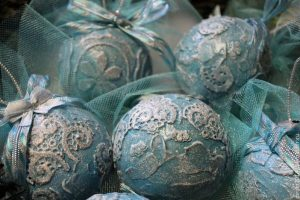 Мастер-класс  по декупажу «Декорирование новогоднего шара в технике декупаж»