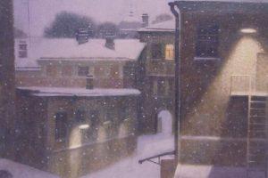 Мастер-класс по масляной живописи «Зимний город по мотивам работ И. Пьянкова»