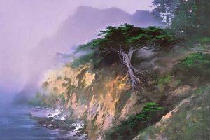 Мастер-класс по масляной живописи «Современный пейзаж по мотивам творчества Hong Leung»