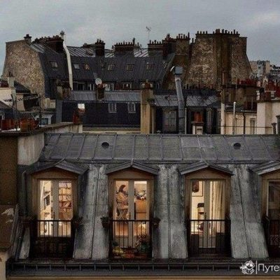 Мастер-класс по масляной живописи «Окна Парижа» состоится 27.10.2020
