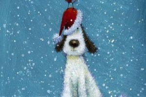 Мастер-класс по масляной живописи «Новогоднее настроение по мотивам работ Jan Pashley»