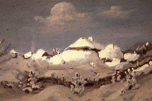Мастер-класс по масляной живописи «Зима по мотивам работ Куинджи»