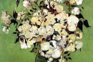 Мастер-класс по масляной живописи «Цветы по мотивам работ Винсента Ван Гога»