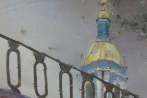 Мастер-класс по масляной живописи «Зимний пейзаж по мотивам работ И. Медведева»