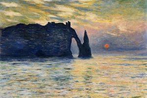 Мастер-класс по масляной живописи «Скалы и море по мотивам работ К. Моне»