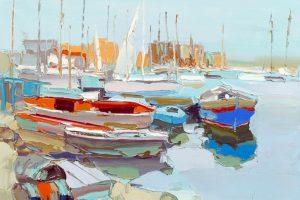 Мастер-класс по масляной живописи «Солнечные пейзажи по мотивам работ NICOLA SIMBARI»