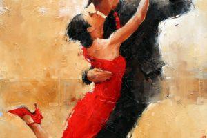 Мастер-класс по масляной живописи «Танго»