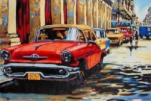 Мастер-класс по масляной живописи «Солнечная Куба»