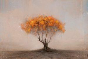 Мастер-класс по масляной живописи «Удивительные деревья»