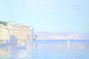 Мастер-класс по масляной живописи «Пейзажи по мотивам работ Бато Дугаржапова»
