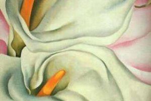 Мастер-класс по масляной живописи «Цветы по мотивам работ Джорджии О`Кифф»