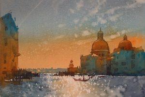 Мастер-класс Венеция акварелью (студия графики и акварели)