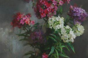 Мастер-класс по масляной живописи «Флоксы»
