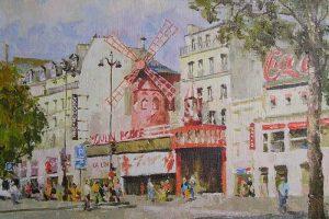 Мастер-класс по масляной живописи «Париж»