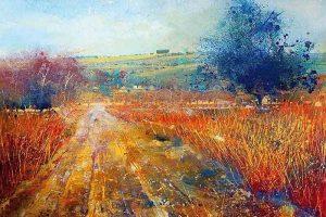 Мастер-класс по масляной живописи «Абстрактные пейзажи по мотивам работ Лорны Холдкрофт»
