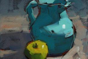 Мастер-класс по масляной живописи «Натюрморты по мотивам работ Cathleen Rehfeld»