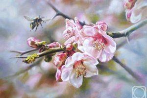 Мастер-класс по масляной живописи «Японская весна»