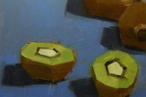 Мастер-класс по масляной живописи «Киви»