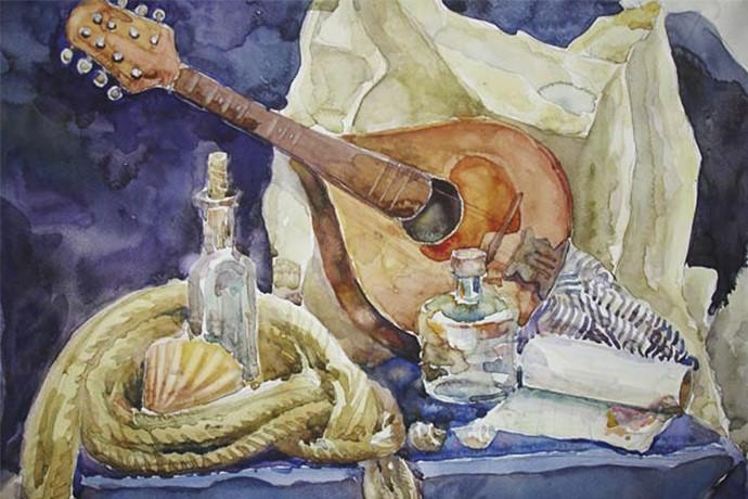 Студия рисунка и акварельной живописи в ХУдожественной школе Пальмира Арт