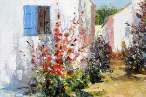 Мастер-класс по масляной живописи «Летний пейзаж по мотивам работ Celestin Messaggio»