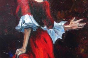 Мастер-класс по масляной живописи «Фламенко»